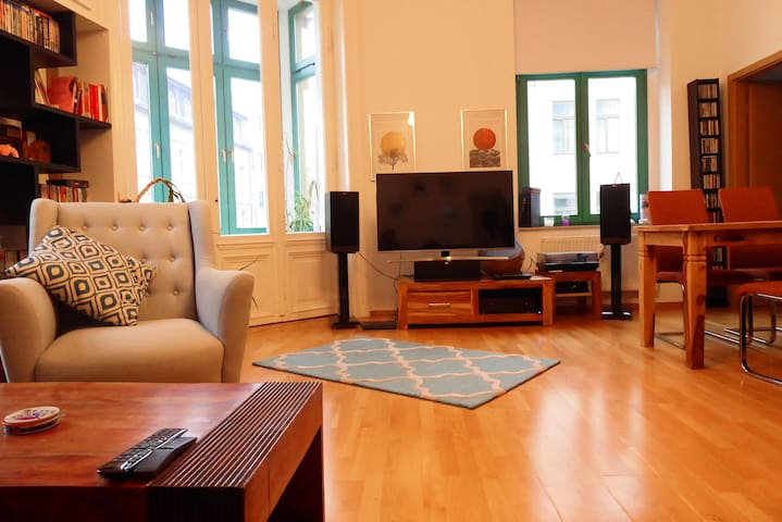 Studio apartment in Leipzig's center