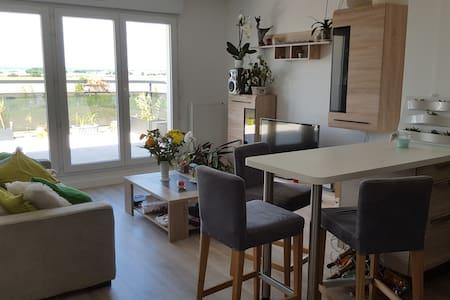 Appartement lumineux au calme à 30 km de Paris - Bondoufle - 公寓