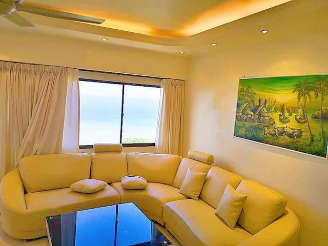 6rooms/2Unit Fully Sea View -2min Walk to BF Beach