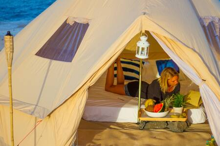 Pine forest Surf Camp - Tipi