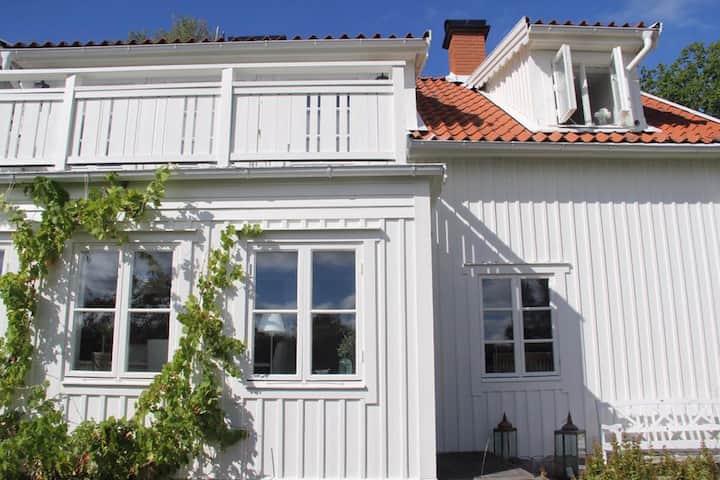 Vackert 1700-tals hus i Sigtuna