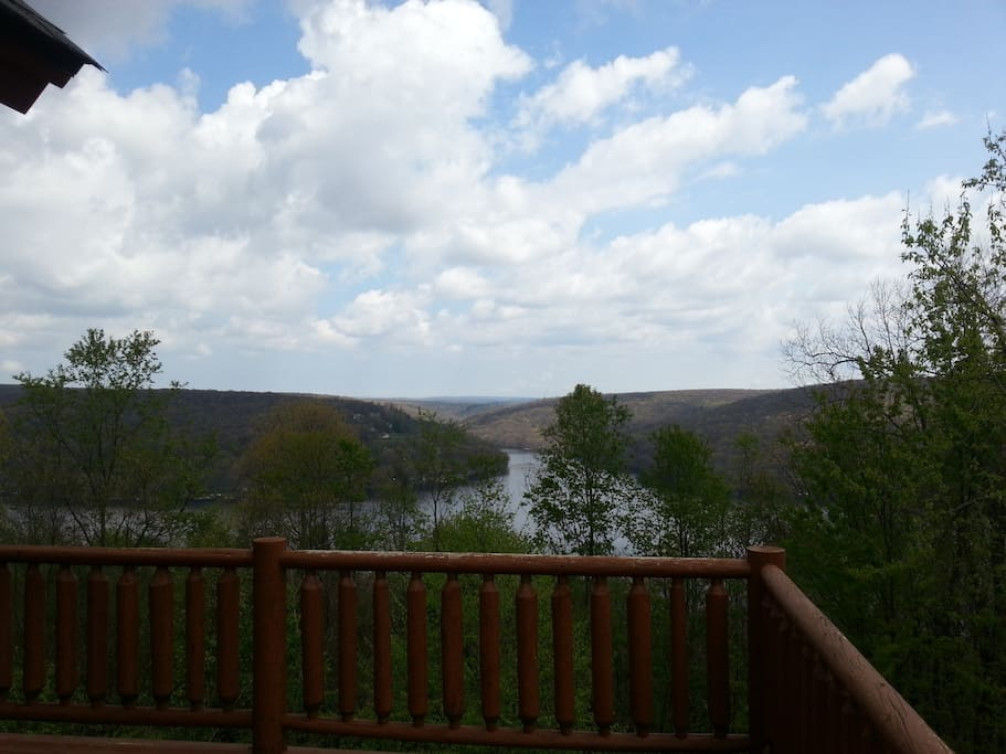 Lakeviews from side porch