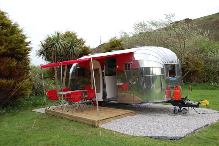 Vintage Airstream - Cornouailles - Camping-car/caravane