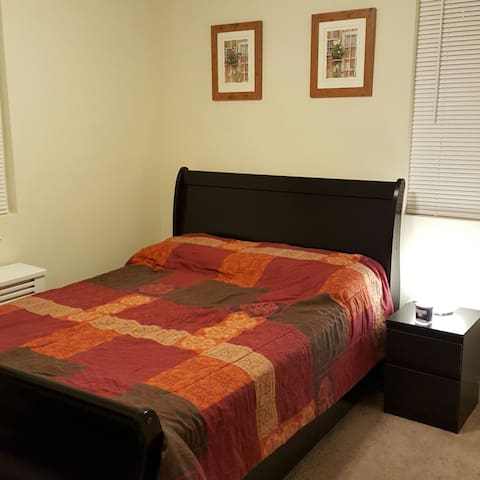 A private room, furnished, clean and cozy! - Hackensack - Appartement