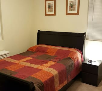 A private room, furnished, clean and cozy! - 哈肯萨克(Hackensack) - 公寓