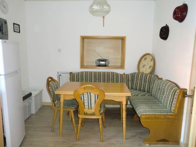 Ferienwohnung in Tännesberg freut sich auf Sie! ;) - Tännesberg - Apartment
