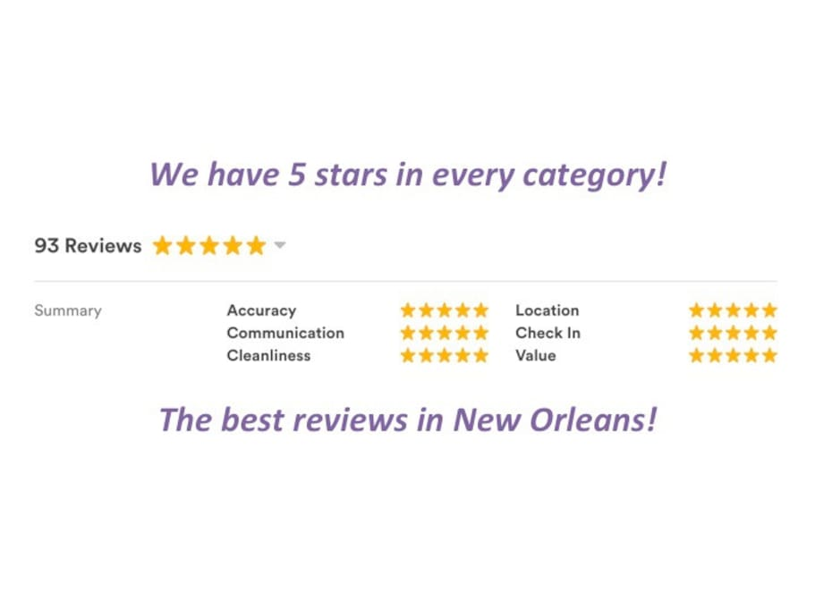 We have the best reviews!
