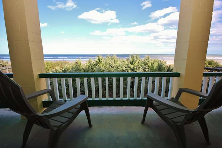 Gorgeous 4Bd Home Directly on Beach BSV New Smyrna