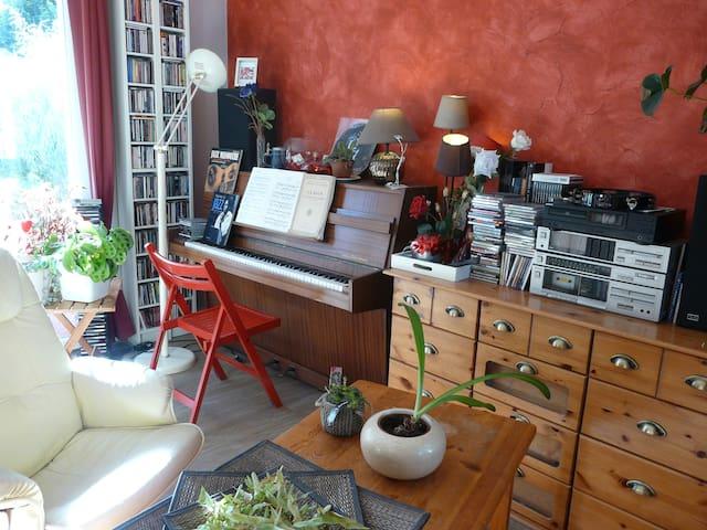 Chambre au calme proche Lorient mer et campagne - Quéven - Wohnung