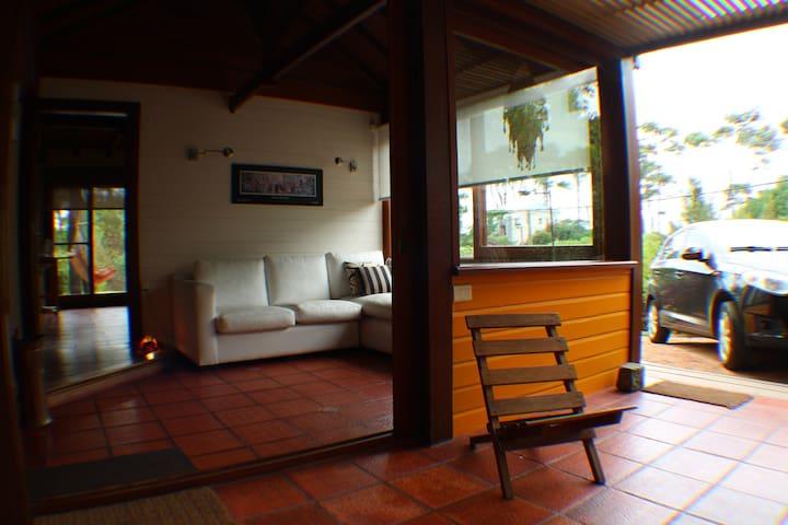 jardines y  playa solo  15 minutos de Pta del Este - Punta Ballena - House