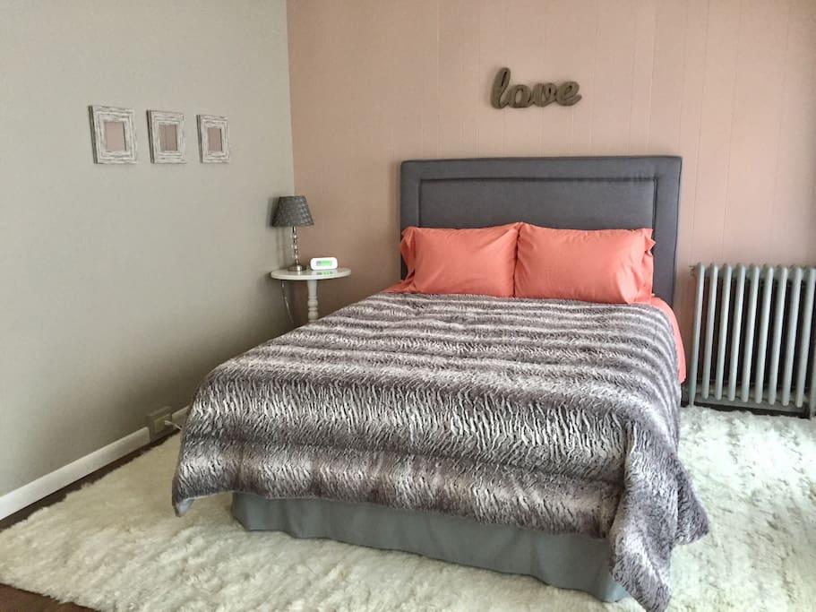 Memory foam Queen bed