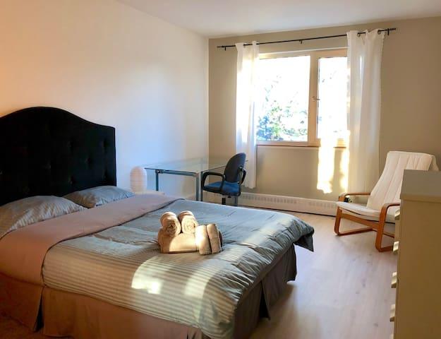 Spacious room, superb house & terrace!
