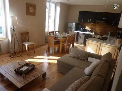 Bel appartement spacieux et ensoleillé