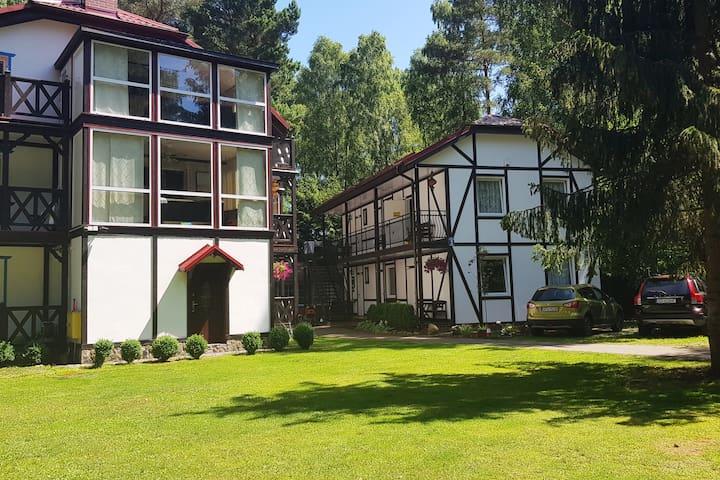 Apartament Dwuosobowy z balkonem