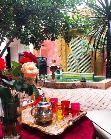 Beauty is RIAD BOUSSKRI Marrakech Medina