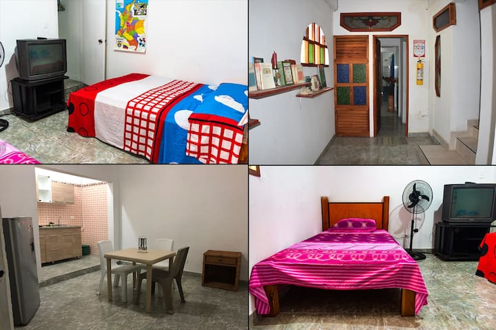 Apt3Spaces/Noiseless/Downtown Cali/Hot Water