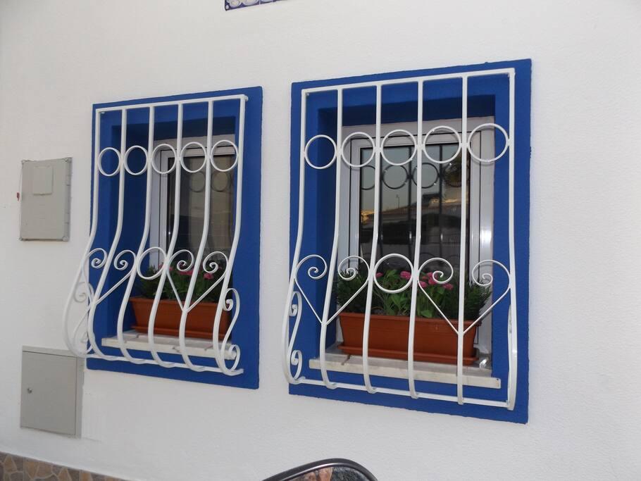Nice traditional windows