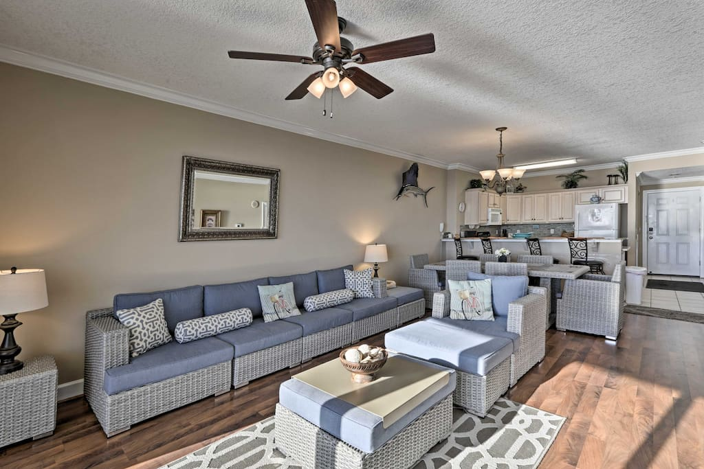 The interior of this condo is perfect for families!