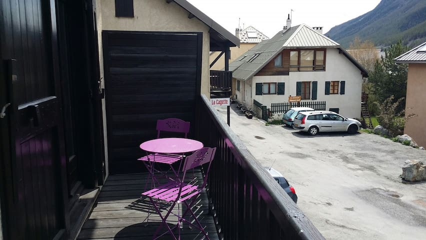 appartement dans la vallee de serre chevalier - Le Monêtier-les-Bains - Villa