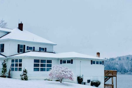 Elk Mountain Estate Historic Lake Lodge sleeps 20