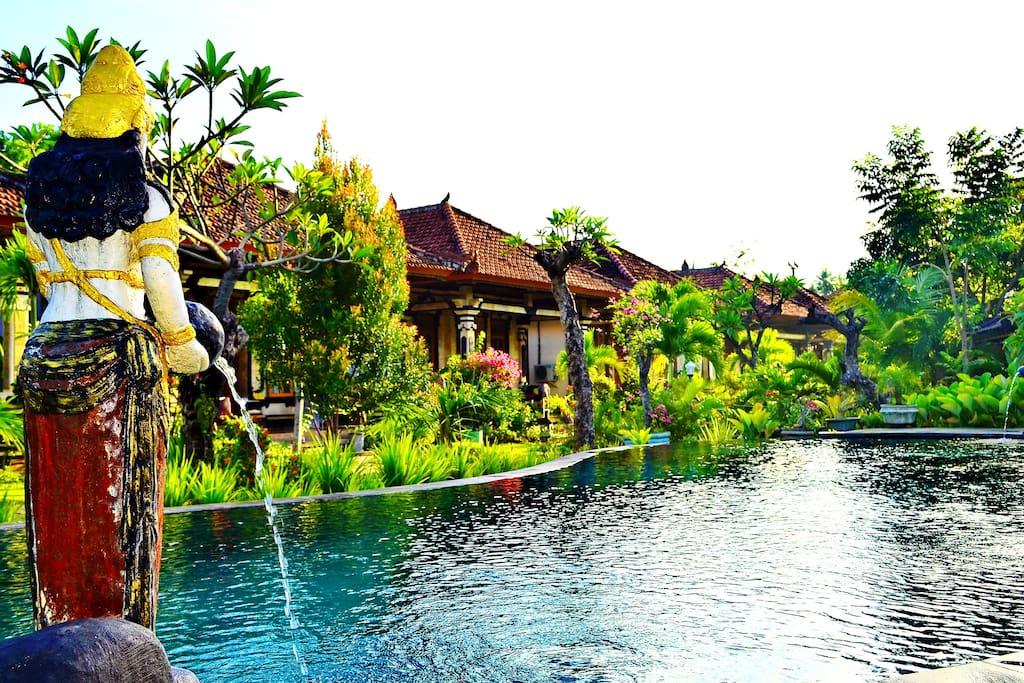 Lovina Sartaya2 Bungalow Ac And Swimming Pool Bungalows For Rent In Buleleng Regency Bali