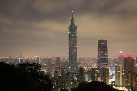 Okouzlující útočiště v Taipei 101