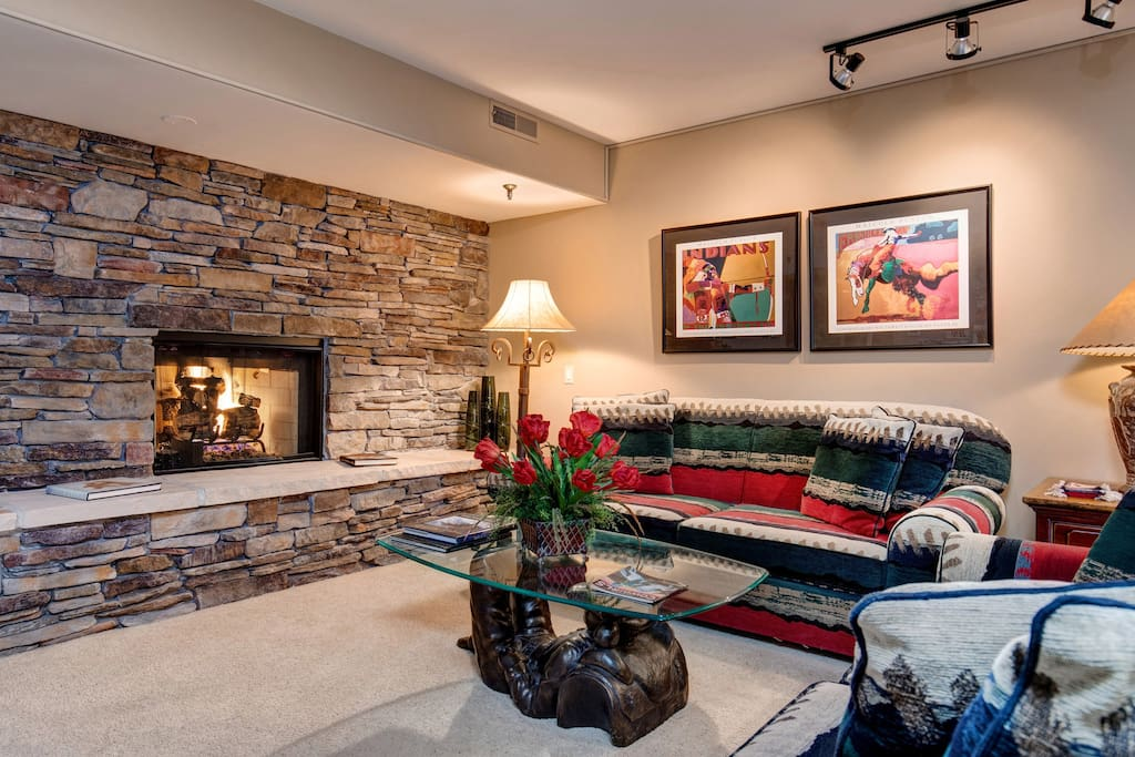 Feel instantly at home in this living room
