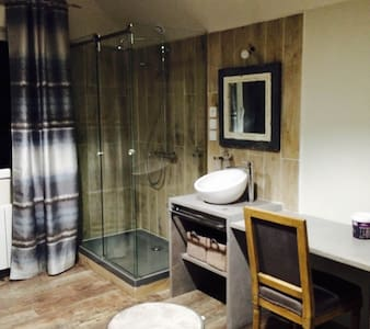 Chambre Atelier et espace commun (piscine,) - Luceau - Talo