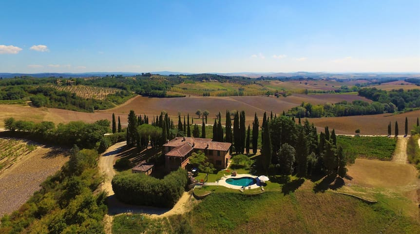 Charming Villa with private pool and tennis - Siena - Villa