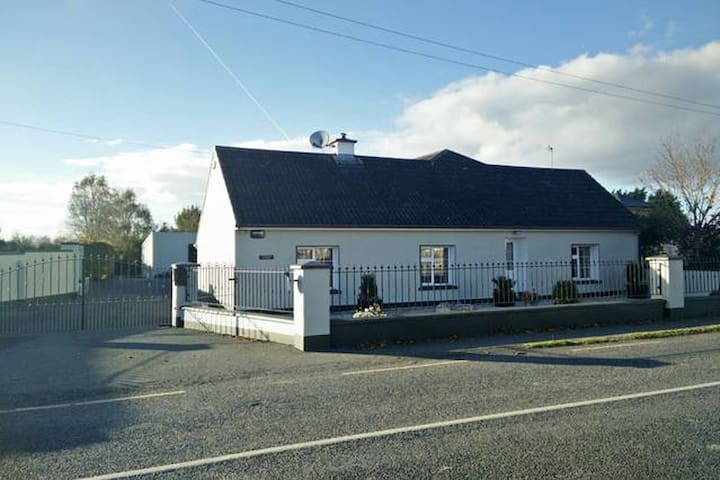 Comfortable twin room in cozy country cottage - Patrickswell - Hus
