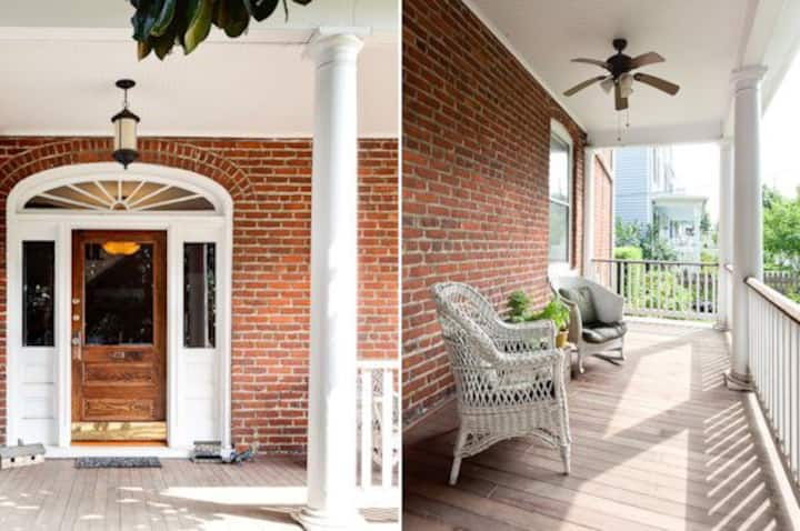 Graves Street Magnolia | Charming classic Belmont home located within a stone`s throw of the Downtown Mall