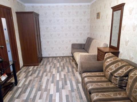 Уютная квартира рядом с набережной и Кремлем