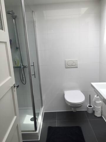 Gebruik van badkamer op de 2e etage