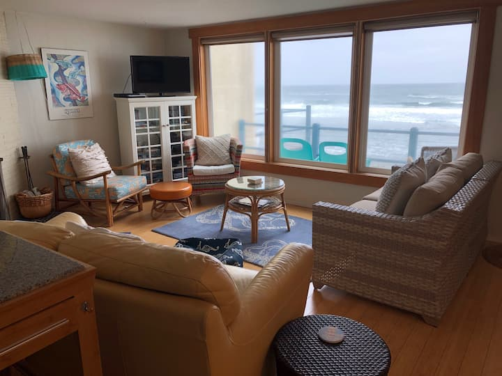 Oceanfront & Pet friendly cozy condo