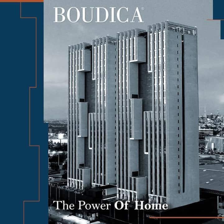Departamento en lujosa torre Boudica