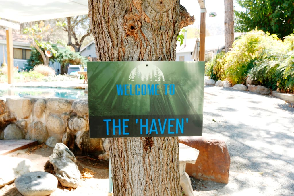 """Welcome to  """"The Haven"""""""