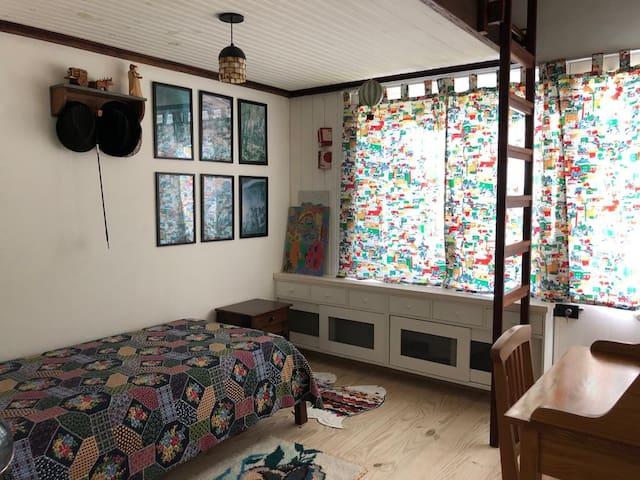 Quarto 2 com 1 cama de solteiro