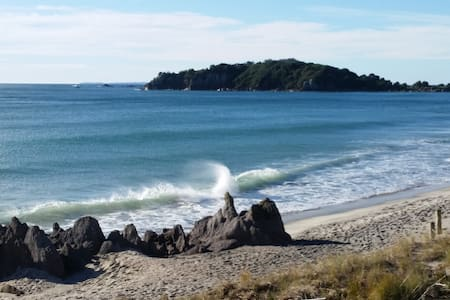 Quiet stay, 10 minutes walk from NZ's No 1 Beach - Tauranga