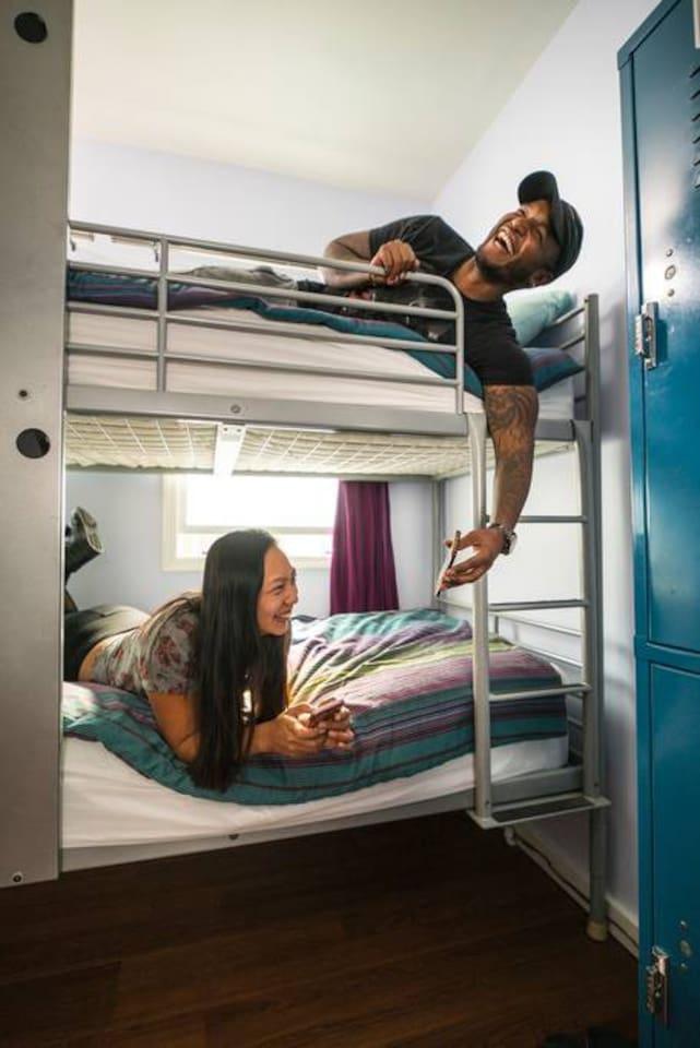 6-bed dorm