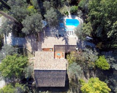 Stone bastide, private pool, panoramic vue, quiet - Callas