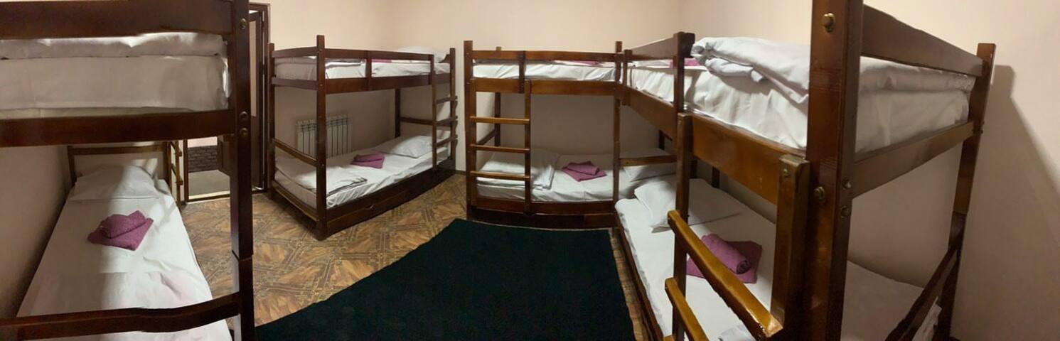 Caravan hostel