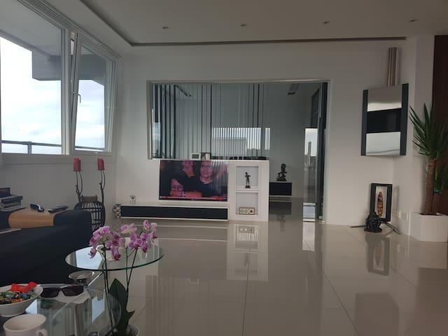 Moderne utsiktsleilighet sentralt i Stavanger