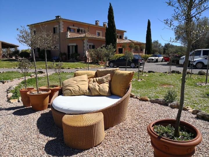Traumfinca auf Mallorca in Santanyi bis 10Pers (3)