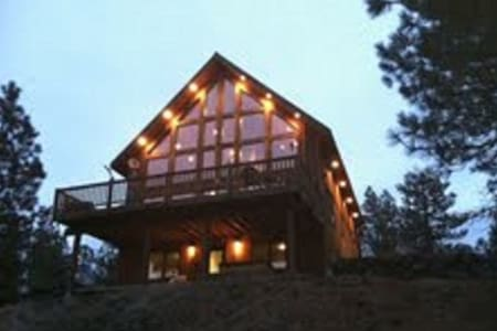 Rustic Country Lodge Getaway... - Cheney - Kulübe