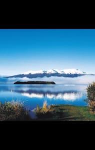 Old Tokaanu Wharf Beside Lake Taupo - Turangi - Chatka
