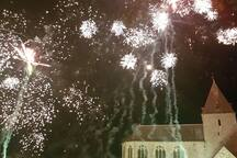 Fantastic annual end of August fireworks
