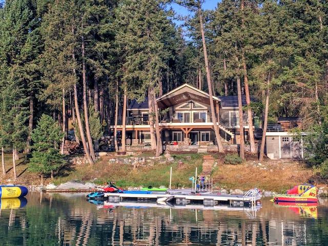 Beautiful Lake Front Cabin on Foys Lake