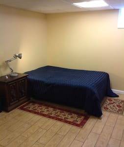 Spacious Master Bedroom Outside NYC - Nutley