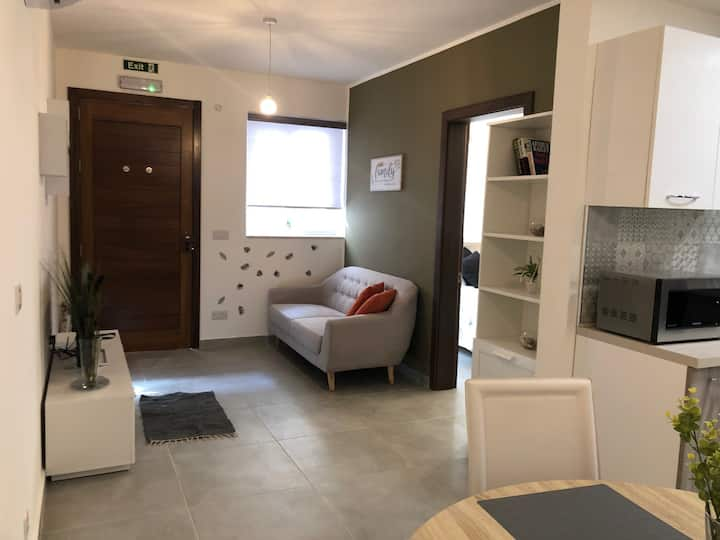 Modern small house - one bedroom central Malta
