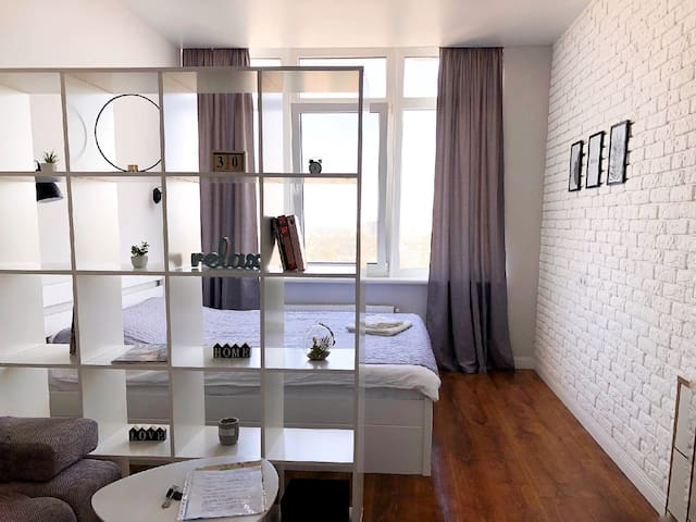 Stylish apartment near to center and train station